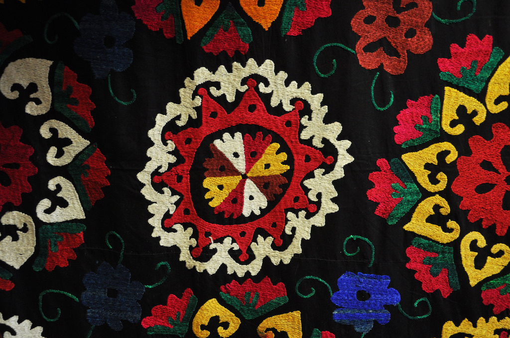 Spotlight on the Suzani – The Beautiful Art of Uzbek Embroidery
